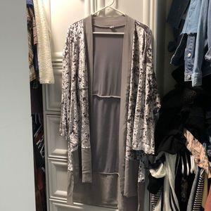 Out from under urban outfitters velvet kimono XS-S